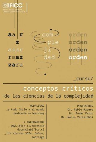 Curso: Conceptos Críticos de las Ciencias de la Complejidad 2020 ON DEMAND