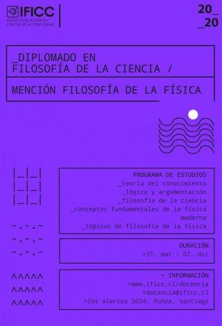 Diplomado en Filosofía de la Ciencia con Mención en Filosofía de la Física 2020